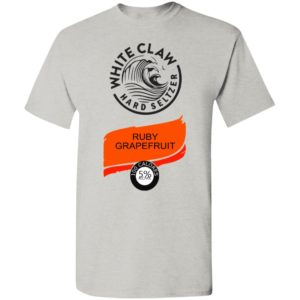 White claw Hard seltzer Ruby Grapefruit Halloween Costume Shirt, Ls, Hoodie