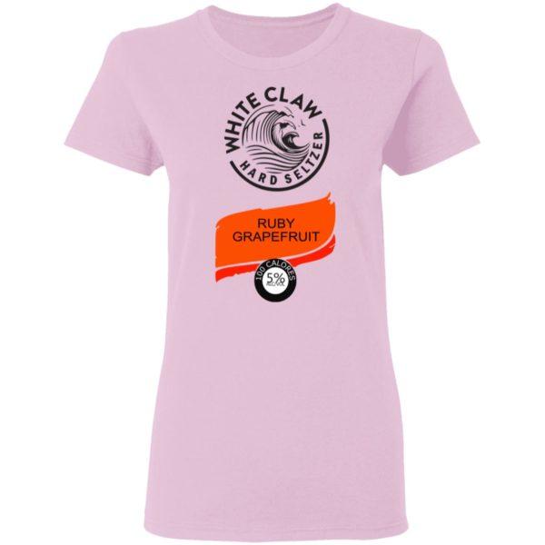 White claw Hard seltzer Ruby Grapefruit Halloween Costume Shirt, Ls, Hoodie