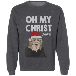 Oh My Christ Funny Ugly Christmas Sweater, Hoodie