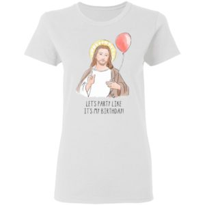 Jesus' Birthday Party Like It's My Birthday Funny Christmas Sweater Shirt, Hoodie