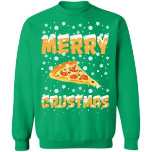 Merry Crustmas Pizza Christmas Sweater Shirt