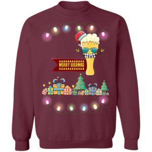 Merry beermas Funny Christmas Sweater Shirt