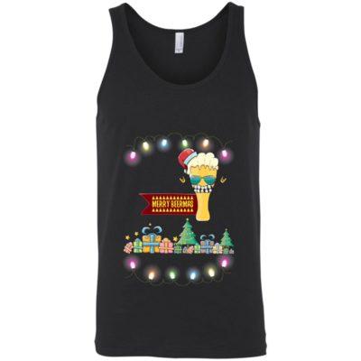 Merry beermas Funny Christmas Sweater Shirt