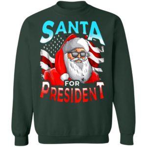 Beto O'Rourke Santa for President 2020 Shirt, long sleeve, hoodie