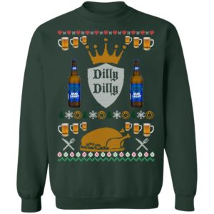 Bud Light Dilly Dilly Ugly Christmas Sweater, Hoodie