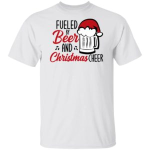 Fueled By Beer And Christmas Cheer Funny Sweater Shirt