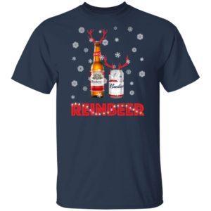 Budweiser Reinbeer Funny Beer Reindeer Christmas Sweater Hoodie