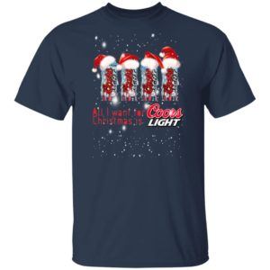 All I Want for Christmas Is Coors Light Christmas Sweater Hoodie