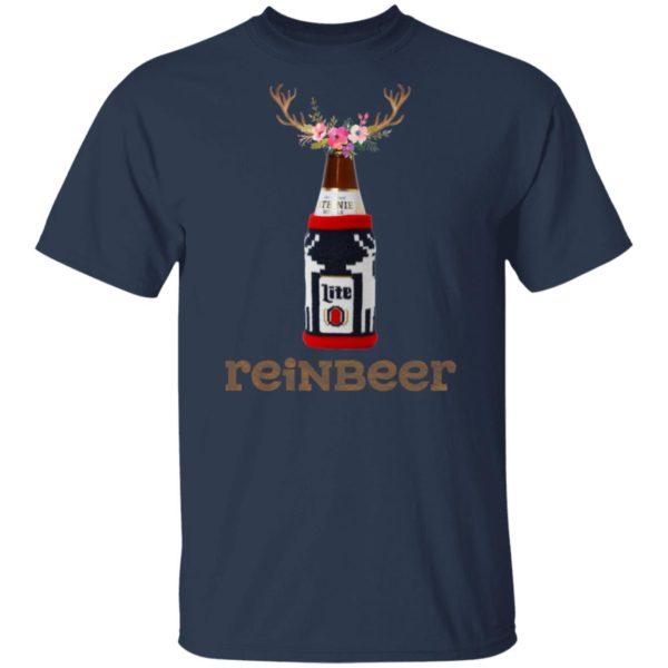 Bottle Miller Lite Reinbeer Funny Christmas Sweater Hoodie