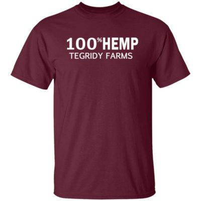 100% Hemp Tegridy Farms Parody T-Shirt, Long SLeeve, Hoodie