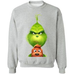 Grinch Christmas Sweatshirt Hoodie, Long Sleeve
