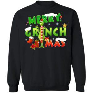 Merry GrinchMas Sweatshirt Hoodie, Long Sleeve