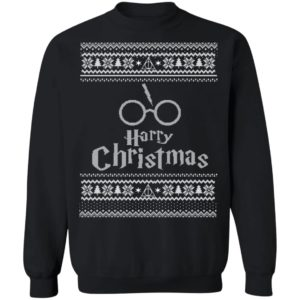 Harry Potter Wizard Movie Ugly Christmas Sweater, Hoodie, Long Sleeve