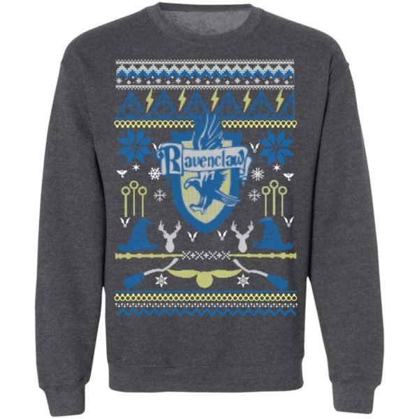 Harry Potter Ravenclaw Ugly Christmas Sweater Hoodie, Long Sleeve