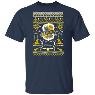 Harry Potter Hufflepuff Ugly Christmas Sweater Hoodie