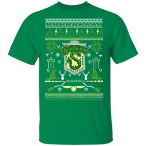 Harry Potter Slytherin Ugly Christmas Sweater Hoodie, Long Sleeve