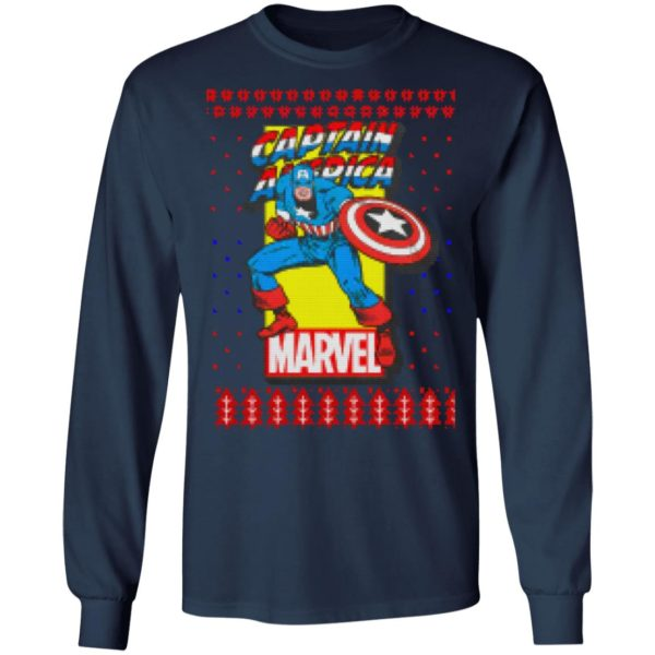 MCU Marvel Captain America Christmas Shirt, Sweater, hoodie