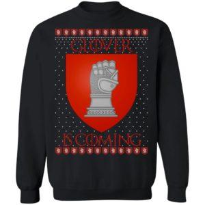 House Glover Game of thrones Christmas Santa Is Coming Sweatshirt, Hoodie