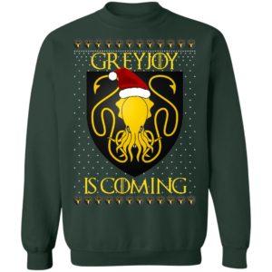 House Greyjoy Game of thrones Christmas Santa Is Coming Sweatshirt, Hoodie