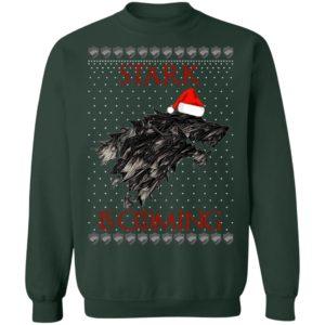 House Logos Stark Game of thrones Santa Is Coming Christmas Shirt, Sweatshirt