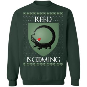 House Reed Game of thrones Christmas Santa Is Coming Sweatshirt, hoodie