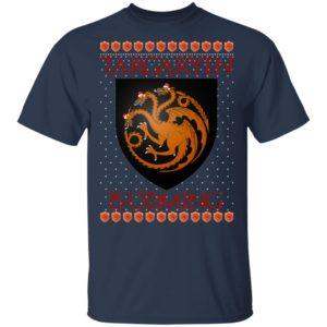 House Targaryen Game of thrones Santa Is Coming Christmas Sweatshirt