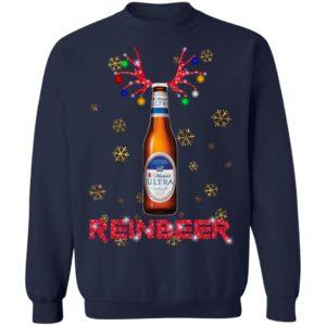 Michelob Ultra Reinbeer Christmas Sweatshirt, Hoodie