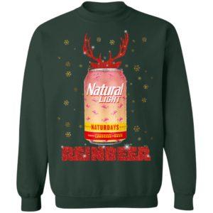 Natural Light ReinBeer Strawberry Lemonade Naturdays Christmas Sweatshirt, Hoodie
