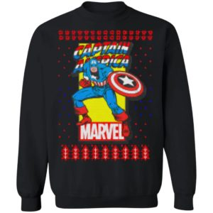 MCU Marvel Captain America Ugly Christmas Shirt, Sweater, Hoodies