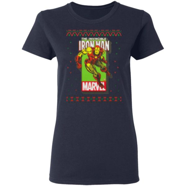 MCU Marvel The Invincible Iron Man Ugly Christmas Shirt, Sweater, Hoodies