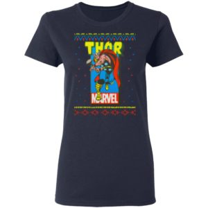 MCU Marvel The Mighty Thor Ugly Christmas Shirt, Sweater, Hoodies