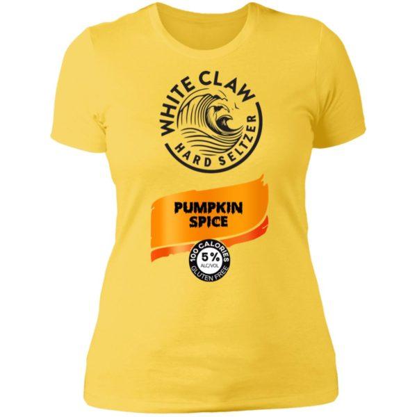 Halloween Costume White Claw Pumpkin Spice Shirt Hoodie