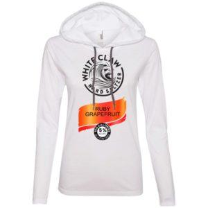Halloween Costume White Claw Hard seltzer Ruby Grapefruit Shirt Hoodie