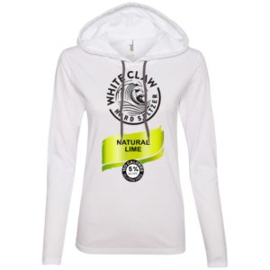 Halloween Costume White Claw Hard seltzer Natural Lime Shirt Hoodie