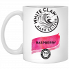 White Claw Hard Seltzer Raspberry Mug, Travel Mug