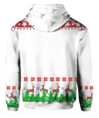 Snoopy Hallmark Ugly Christmas 3D Print Shirt, Hoodie Back