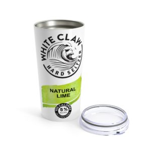 White Claw Natural Lime Hard Seltzer Lime Tumbler