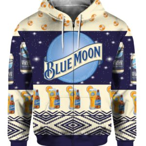 Blue Moon Belgian White Beer 3D Print Ugly