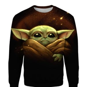 Baby Yoda Star Wars 3D Print Shirt Hoodie