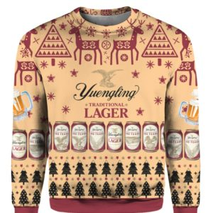 Yuengling Lager Beer 3D Print Ugly Christmas