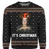 Dwight Schrute It's Christmas 3D Print Ugly Christmas Sweater