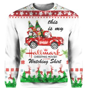 Snoopy Hallmark Ugly Christmas 3D Print Sweater, Hoodie, Shirt