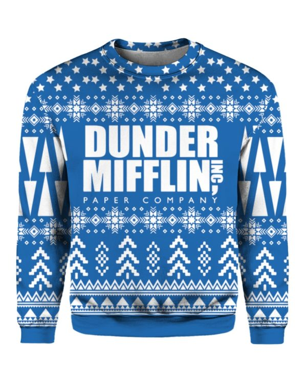 The Office Dunder Mifflin 3D Print Christmas Ugly Sweater