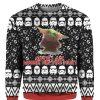 Baby Yoda 3D Print Ugly Christmas Sweater