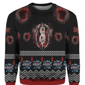 Slipknot 3D Print Ugly Christmas Sweater