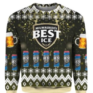 Milwaukees Best Ice Beer 3D Print Ugly Christmas