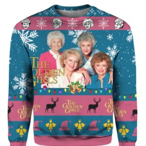 The Golden Girls 3D Print Ugly Christmas Sweater, Hoodie