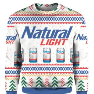 Natural Light Can Beer 3D Print Ugly Christmas