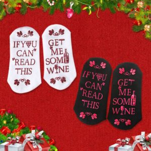 If you can read this Get me some Wine Unisex Socks