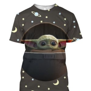 Baby Yoda The Mandalorian 3D Print Shirt Hoodie